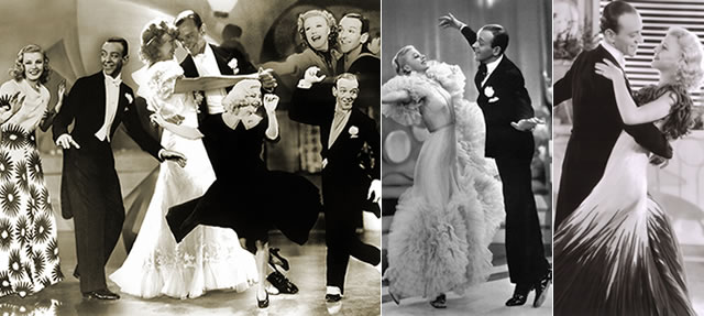 Pares de bailarinos famosos do cinema