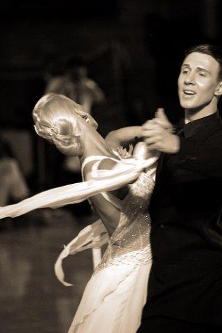 Bailarinos de dança de salão