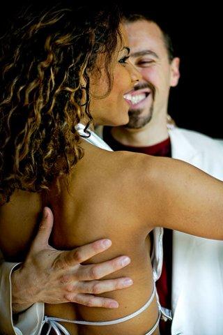 Par de danças de salsa