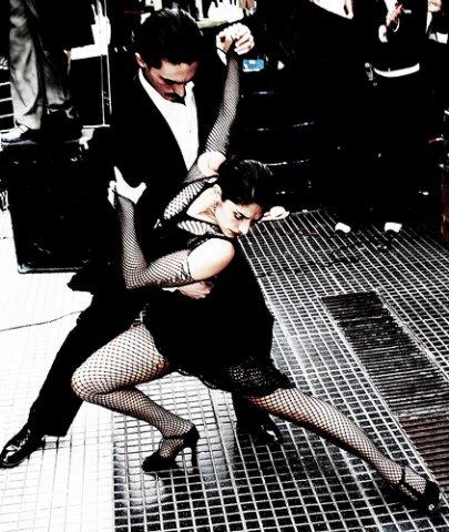 para a dançar o tango